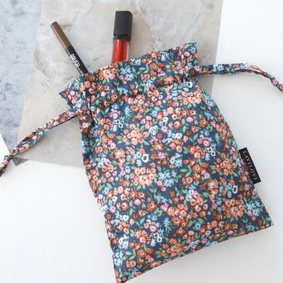 루크레치아 스트링파우치 string pouch_네이비(S)