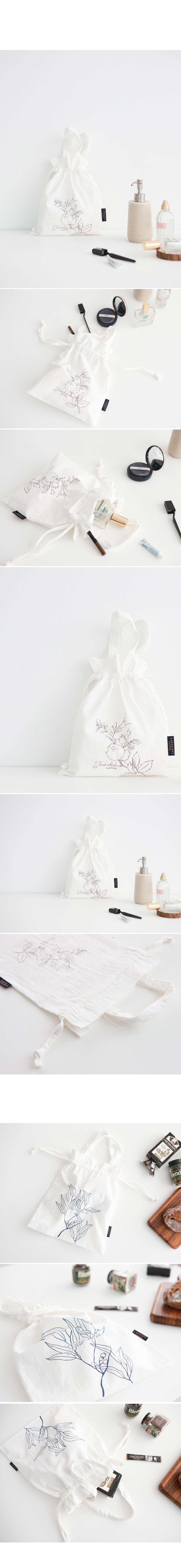 플랜트 스트링 파우치겸 미니백 가방 (3종) - 라비로비, 11,000원, 다용도파우치, 끈/주머니형