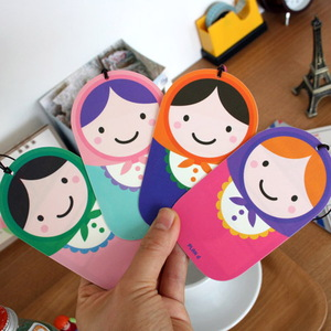 TRAVEL TAG-MATRYOSHKA
