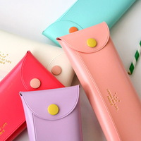 BUTTON FOLDING PENCIL CASE