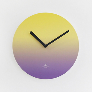 OBJECT CLOCK_YELLOW-PURPLE