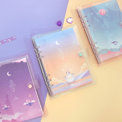 A5 6공 TWINKLE MOONLIGHT DIARY