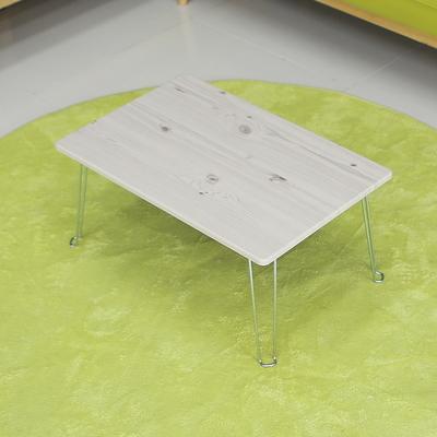 레인보우 황토 접이식 테이블 미니 화이트워시