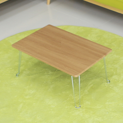 레인보우 황토 접이식 테이블 미니 아카시아