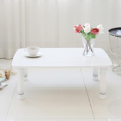 레인보우 LPM 4단 높이조절 라운드 접이식 테이블 특대 800 화이트오크
