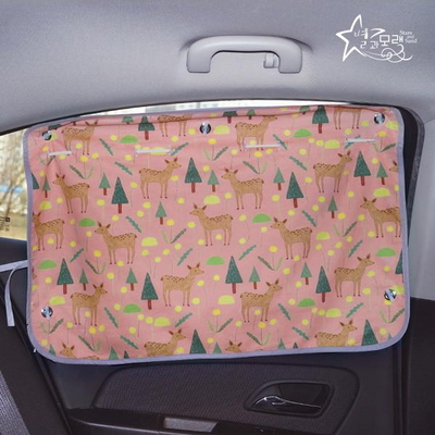 햇빛가리개 큐방형 숲속다람쥐(W)