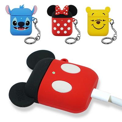 디즈니 에어팟2 에어팟1 공용 실리콘 케이스