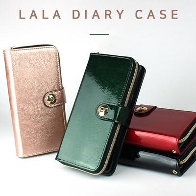 KK 라라 에나멜 다이어리 케이스 휴대폰 핸드폰 케이스
