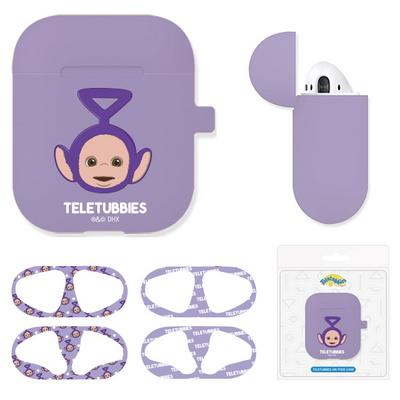 텔레토비 에어팟 실리콘 케이스+철가루방지스티커 (세트)