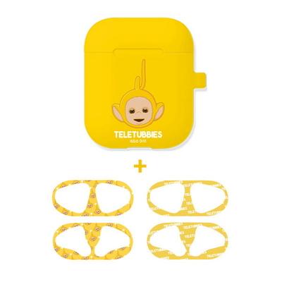 텔레토비 뽀 에어팟 실리콘 케이스+철가루방지스티커 (세트)