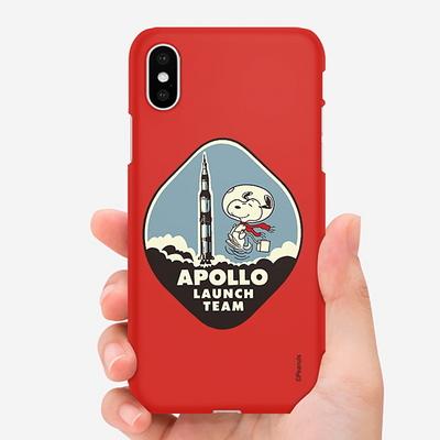 스누피 아폴로 소프트 컬러 젤리 케이스(JH) 핸드폰 휴대폰 커버