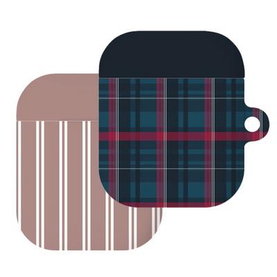 가을셔츠 에어팟 링 하드 케이스(b) (에어팟 1 2 공용)