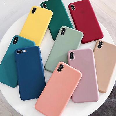 비비드 소프트씬 아이폰 젤리 케이스 휴대폰 커버