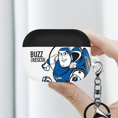 토이스토리 버즈 카툰 에어팟 프로 케이스 + 철가루방지스티커