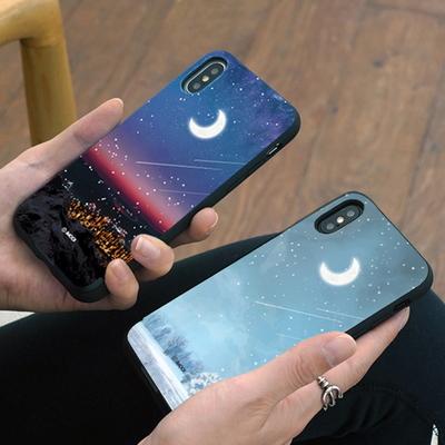 더문 카드 슬롯 범퍼 케이스(i) - 갤럭시 아이폰