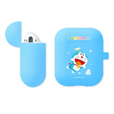 정품 도라에몽 에어팟 2-1 공용 실리콘 케이스+철가루 방지 스티커