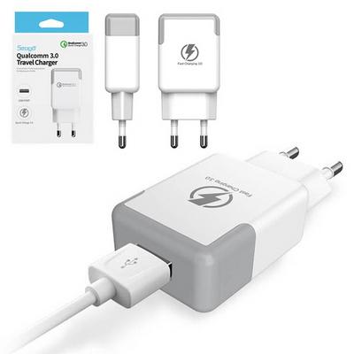 서가 퀄컴 QC 3.0 급속 휴대폰 충전기 (LA A186KL) - C 타입
