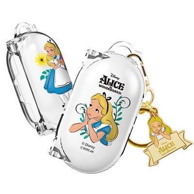디즈니 앨리스 버즈+ 버즈 일체형 투명 하드 케이스