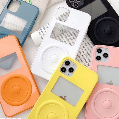 HI 뮤직팟 컬러 범퍼 젤리 케이스 아이폰 커버