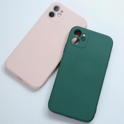btg 사각 소프트씬 젤리 케이스 아이폰12프로
