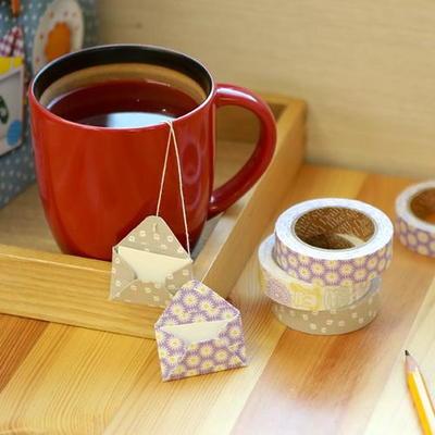 Fabric Tape - 36 Tea time