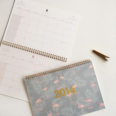 2016 Dual desk planner