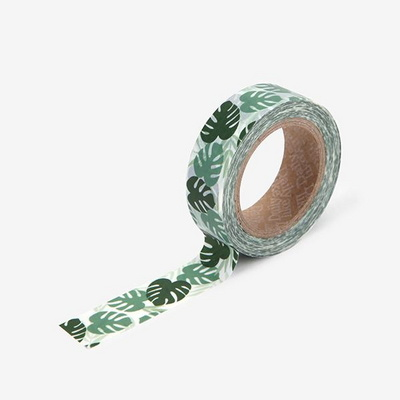 Masking tape single - 102 Monstera