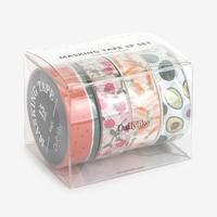 Masking tape 4p set - 04 Fruits