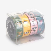 Masking tape 4p set - 02 Animal2