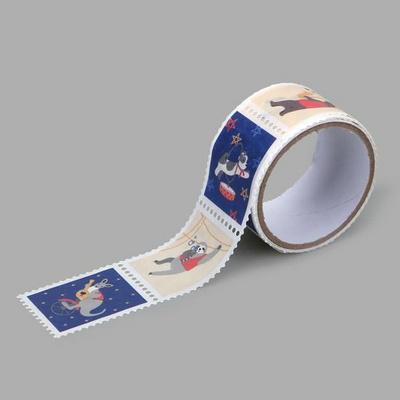 Masking tape : stamp - 14 Animal musicians