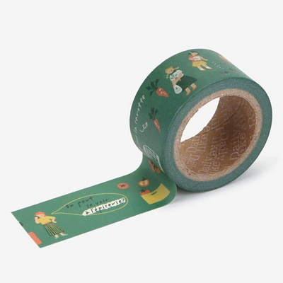 Masking tape 25mm - 09 Greengrocery store