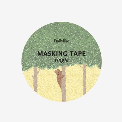 Masking tape single - 150 Forest animal