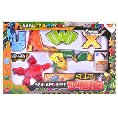 인섹트테라 알파벳변신로봇(곤충변신)