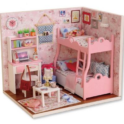 DIY 미니어쳐 하우스 만들기 이층침대방2종