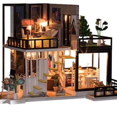 DIY 미니어쳐 하우스 만들기 옥탑더테라스