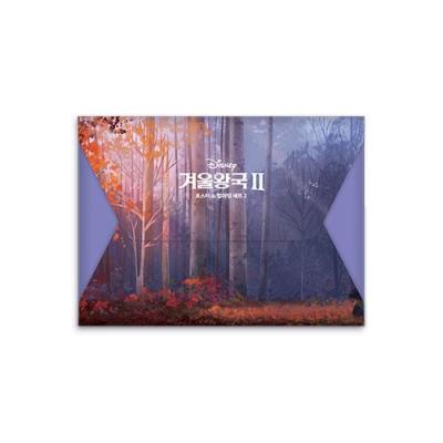 디즈니 겨울왕국 2 포스터 & 컬러링 세트2