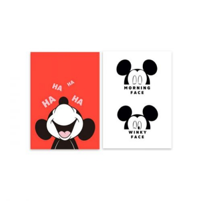 디즈니 미키 마우스 프레임 포스터 세트 2
