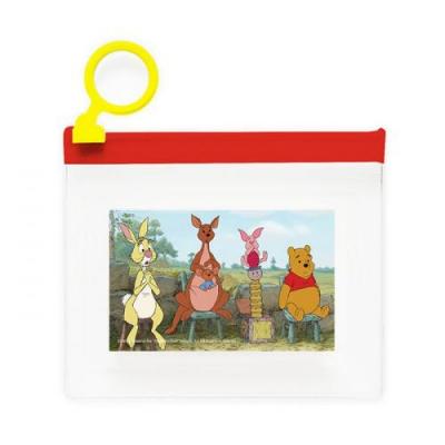 디즈니 곰돌이 푸 스티커팩 55(지퍼백,55장)