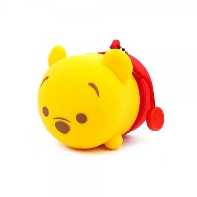 DS0113 곰돌이푸 실리콘 동전파우치 동전지갑
