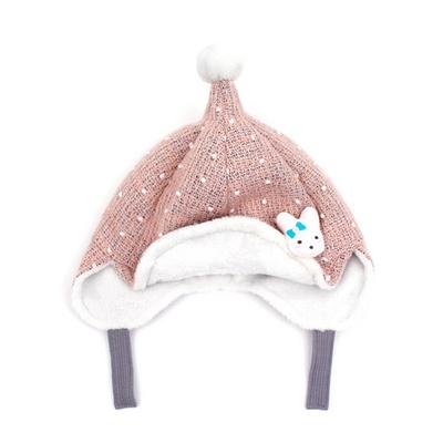 아기 겨울 기모 니트 보넷 요정모자 돌 선물 MA0852