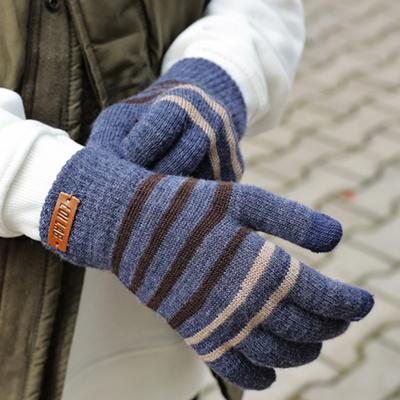 로이도이 스마트터치 방한장갑 겨울 니트장갑