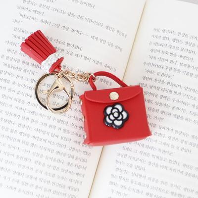 로즈 핸드백 동전지갑 키링(5colors)
