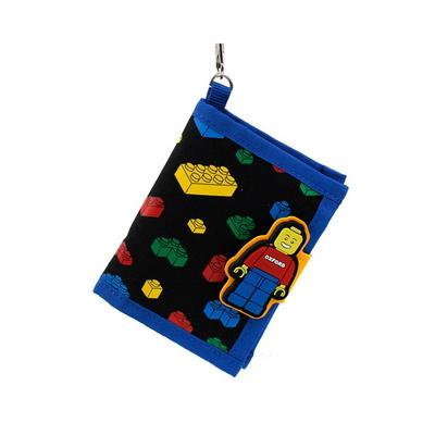 옥스포드 블록 패턴 지갑 어린이 반지갑