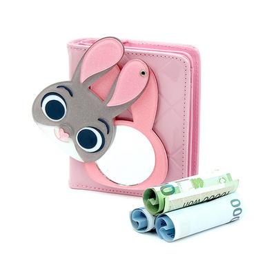 주디 에나멜 거울 지갑 디즈니 주토피아 캐릭터 지갑