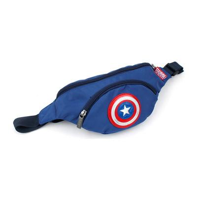 캡틴아메리카 방패 힙색 마블 캡틴 캐릭터 가방