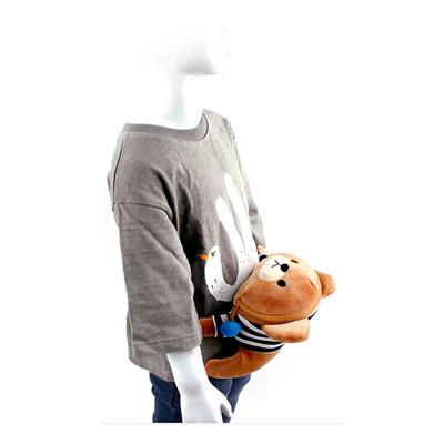 버블뮤 피기백 힙색 곰돌이 캐릭터 인형 가방