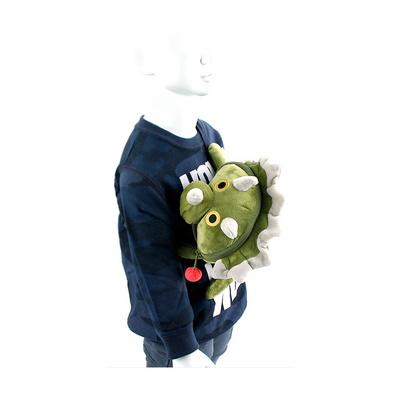 트리케라 피기백 힙색 공룡 캐릭터인형 크로스백 가방