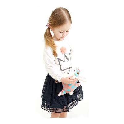 로라앨리 피기백 힙색 귀여운 토끼 캐릭터 인형 가방