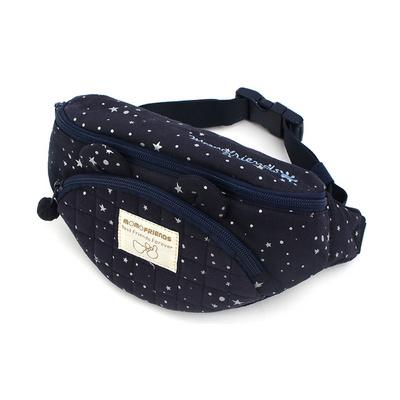 모모프렌즈 원더 힙색 반짝 별 은하수 캐릭터 가방