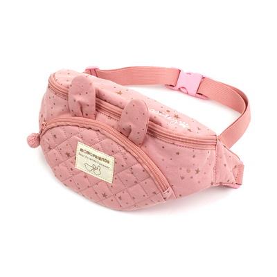 로라앨리 원더 힙색 반짝 별 은하수 핑크 가방
